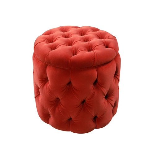 Buttoned Pouff / Footstool