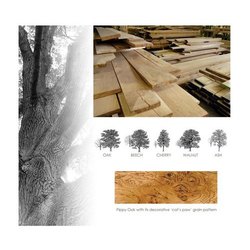 Carefully selected timbers