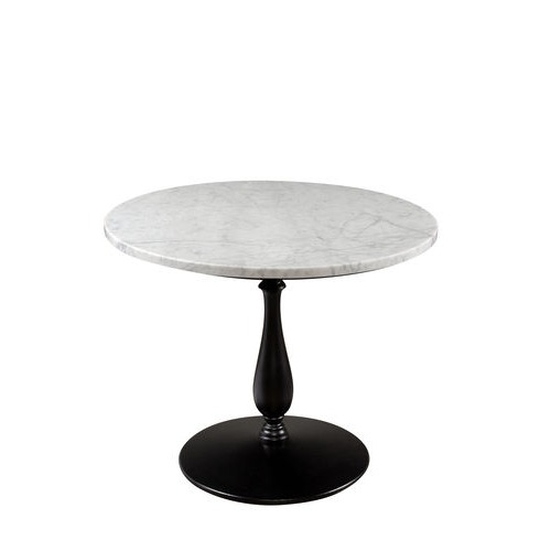 Marble Top Dining Table on Metal base