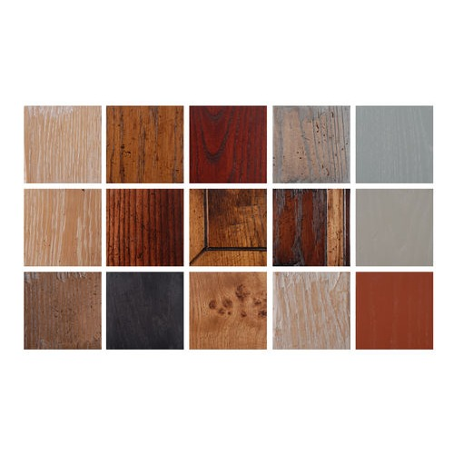 Wide selection of colours and finishes available