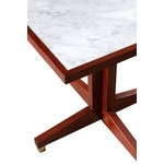 Square Marble Top Cross Over base Table image 335