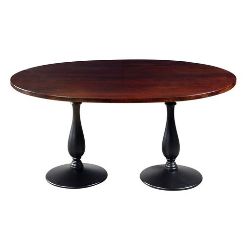 Double Pedestal Oval Table image 339