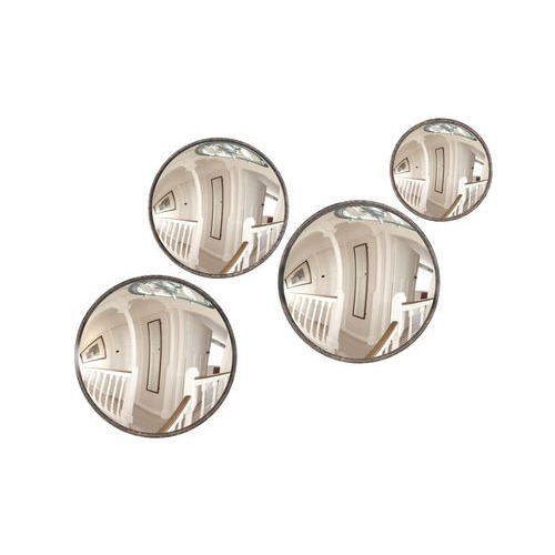 Set of 4 Convex Round Mirrors