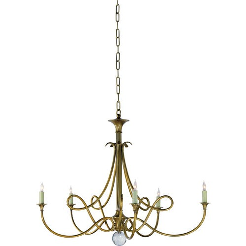 Ceiling - Double Twist Chandelier