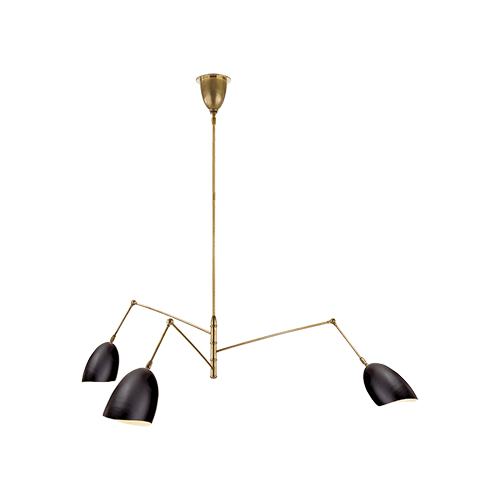 Sommerard Triple Arm Chandelier
