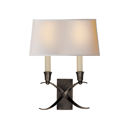 Cross Bouillotte Small Sconce  image 1085