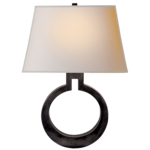 Ring Form Large Wall Sconce  image 1082